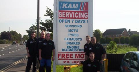 KAM Servicing Network