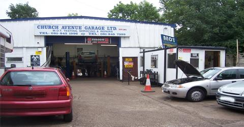 Church Avenue Garage