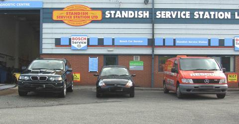 Standish Service Station Ltd