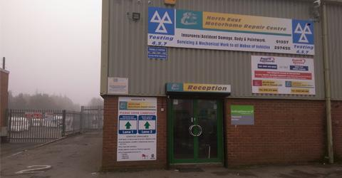 North East Motorhome Repair Centre Ltd
