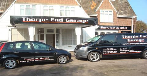 Thorpe End Garage