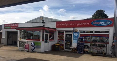 Huttoft Service Station