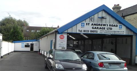 St Andrews Road Garage