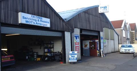 the good garage scheme p b tyres