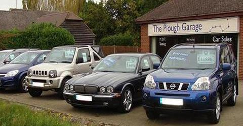 The Plough Garage