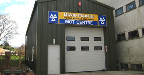 David Martin Motor Vehicle Engineer