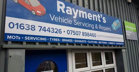 Rayment's Vehicle Servicing & Repairs Ltd