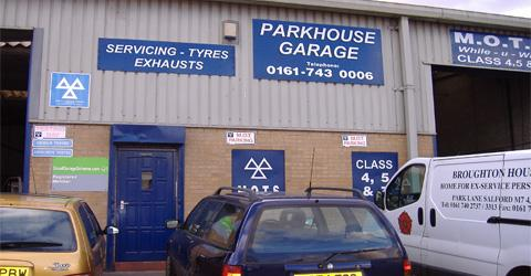 Parkhouse Garage