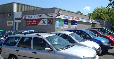 howard selby garage north berwick sell cheap tyres