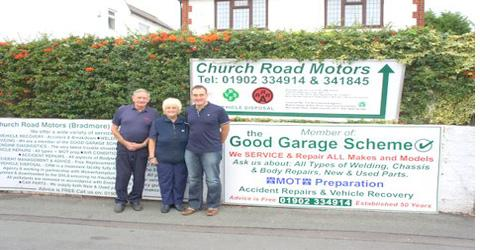 Church Road Motors