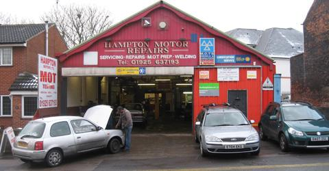 Hampton Motors Ltd