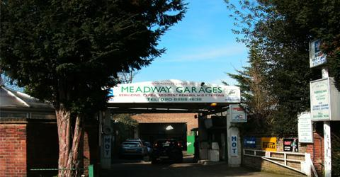 Meadway Garages